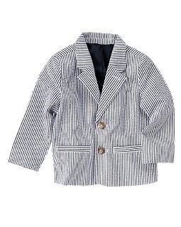 Seersucker blazer, $29.95