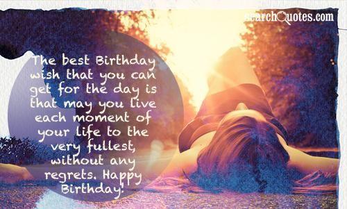 Happy Birthday For Him Quotes!!