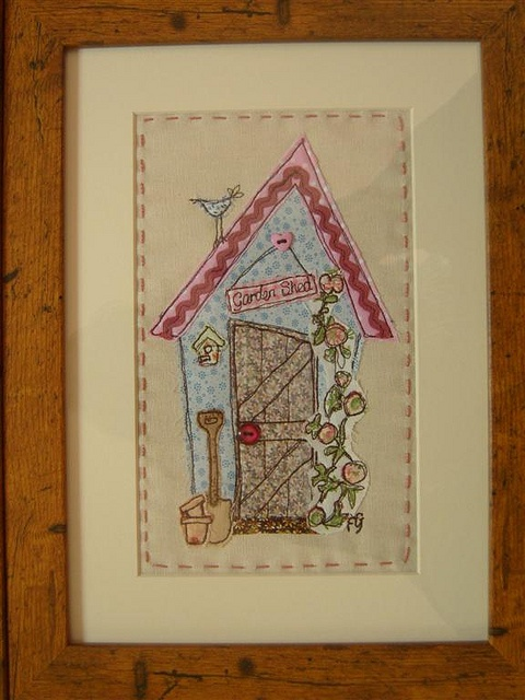 Shed Applique Picture by MarmaladeRose, via Flickr