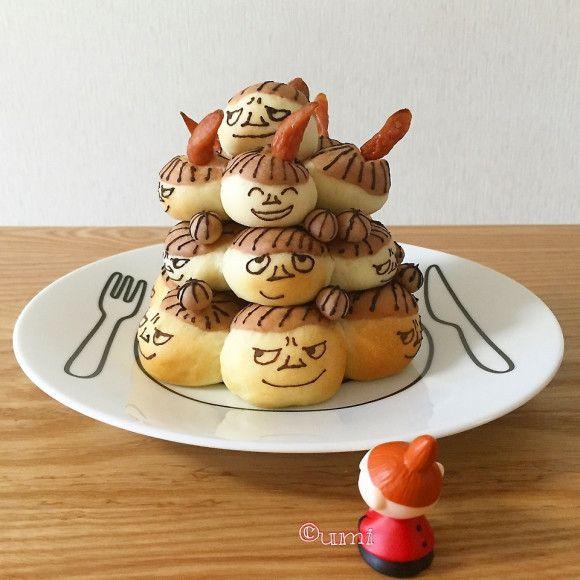 Little My buns tower