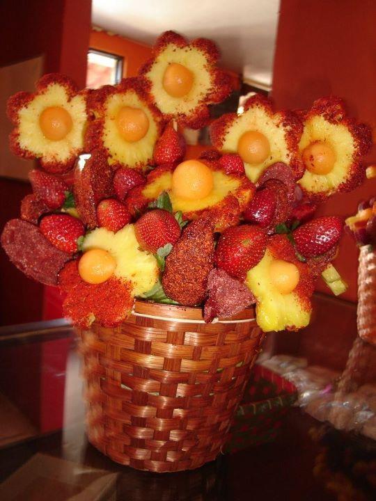 mexican fruit cup fruit basket