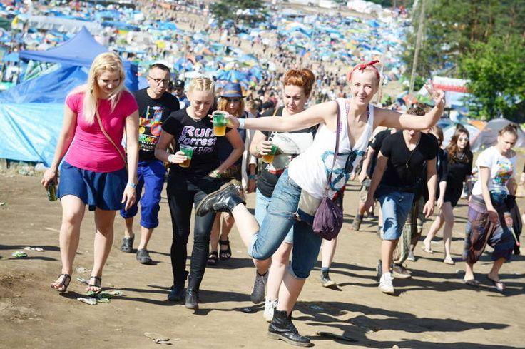 Dziewczyny na Woodstocku 2016. Foto-M.Kapała