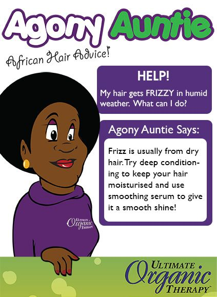 BEAT THE FRIZZ! Keeping your hair well conditioned will help fight the frizz.    More tips: www.facebook.com/UltimateOrganics