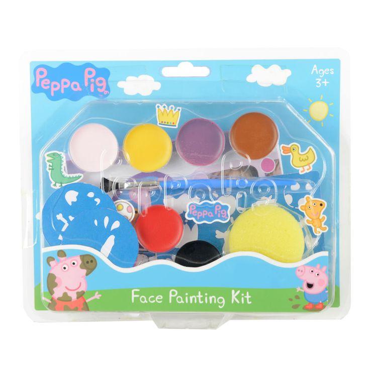 Peppa Pig Face Painting Kit STOCKING