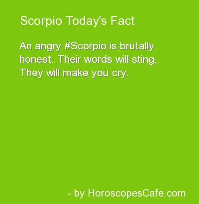 Scorpio Daily Fun Fact- omg had to leave the original comment- this is fun fact  ;)