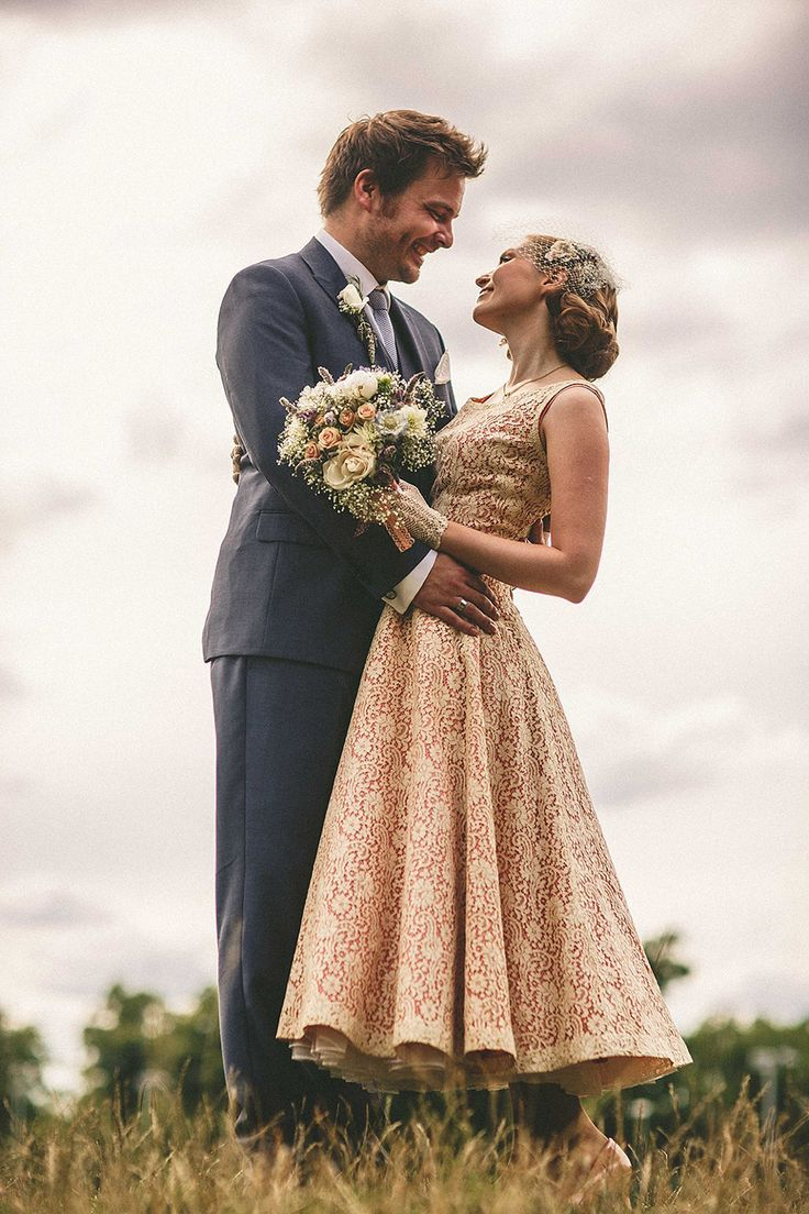 A 1950s Dress for a Second Hand Books and 1940s Vintage Inspired East London Wedding | Love My Dress® UK Wedding Blog