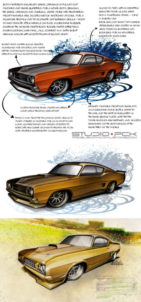 Best Muscle Car Drawings Images On Pinterest Car Drawings