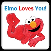 Elmo Loves You, Personalized Childrens Book, Personalized Sesame Street Books, Personalized Elmo Books