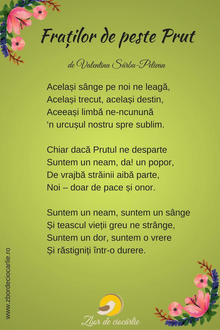 Poezie unire Basarabia cu Romania, poezii patriotice