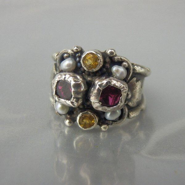 Anillo de plata, anillo de citrino ojo de circón, único anillo de plata, Birthstone anillo, anillo de citrino, estilo antiguo anillo, anillo de aniversario de yifatbareket en Etsy https://www.etsy.com/es/listing/230457676/anillo-de-plata-anillo-de-citrino-ojo-de