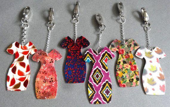 Choose Your Own Dress KEYCHAIN Shrink Plastic by ShrinkArtDesigns, $5.00
