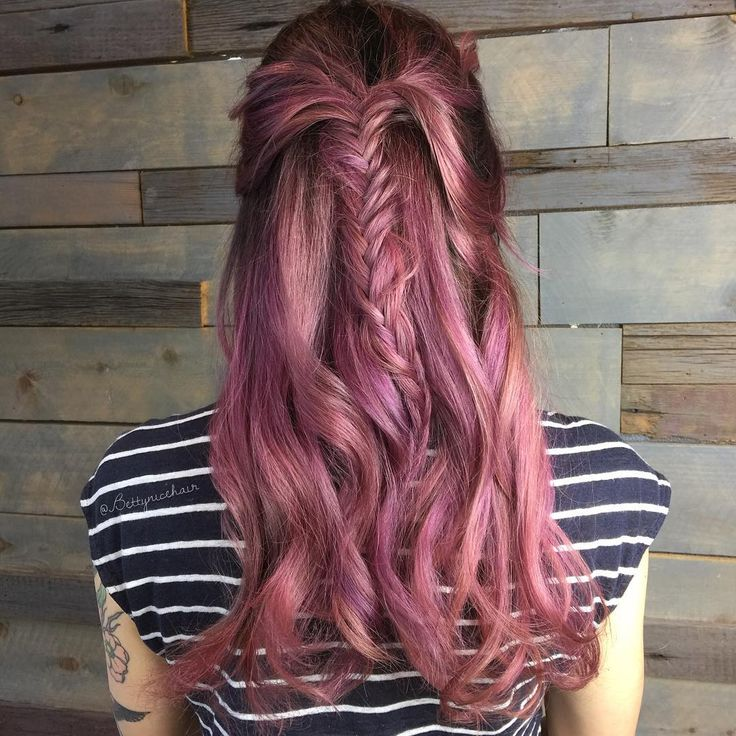 mauve and in love #bettynicehair