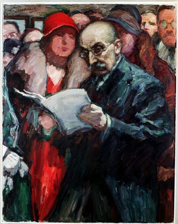 Berlin, 1930 by Leonid  Pasternak (Russian:1862-1945).. Öl auf Leinwand; © Jerusalem, The Israel Museum
