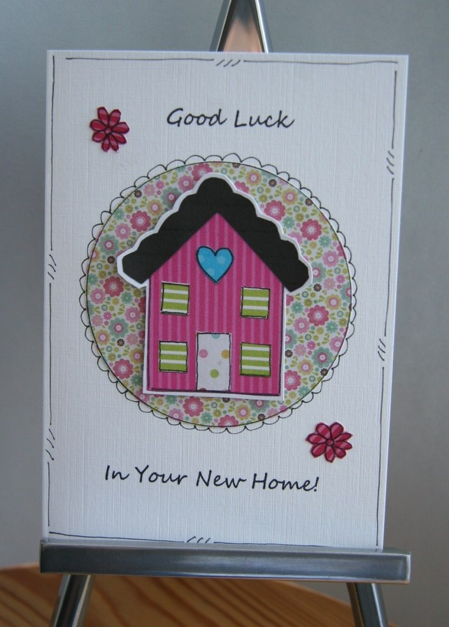Creative Card Making Ideas Home Part - 49: Good Luck In Your New Home Card By CraftyMushroom · New Home CardsCreative  ...