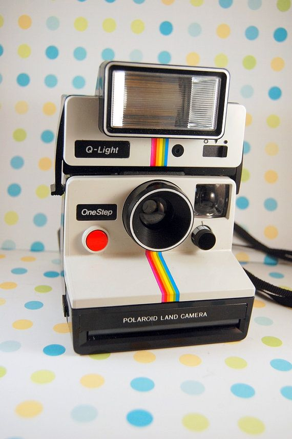 Polaroid SX-70 One Step Land Camera and Q Light by TheRecycleista