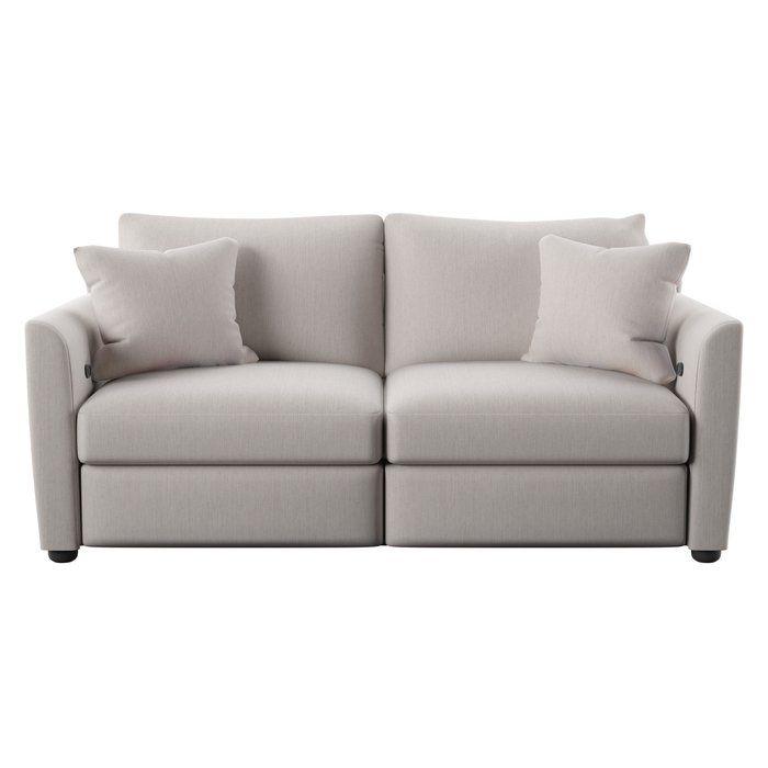 Georgia Reclining Loveseat Love Seat Sofa Modern Reclining Loveseat