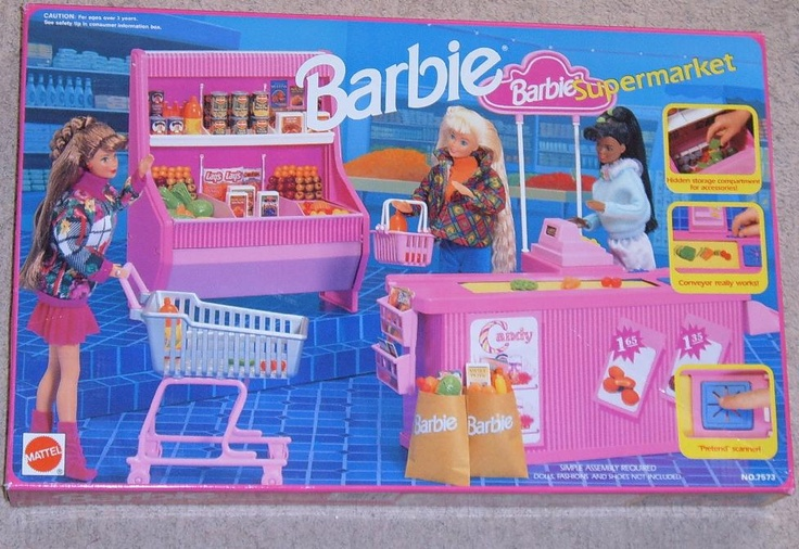 Barbie Supermarket, ha ha i remember this very well :-)