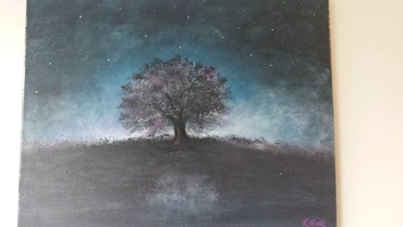 https://www.etsy.com/listing/209004087/starry-night-tree-acrylic-painting-on-a