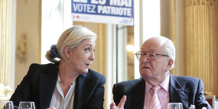 """"""" Aujourd'hui, c'est moi, et non plus lui, qui suis chargée de son avenir  [du Front national ] et de celui de ses idées """" Marine Le Pen. Juin 2014"""