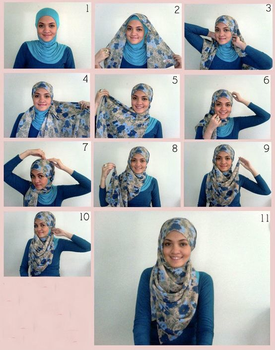 TUTORIAL HIJAB 2