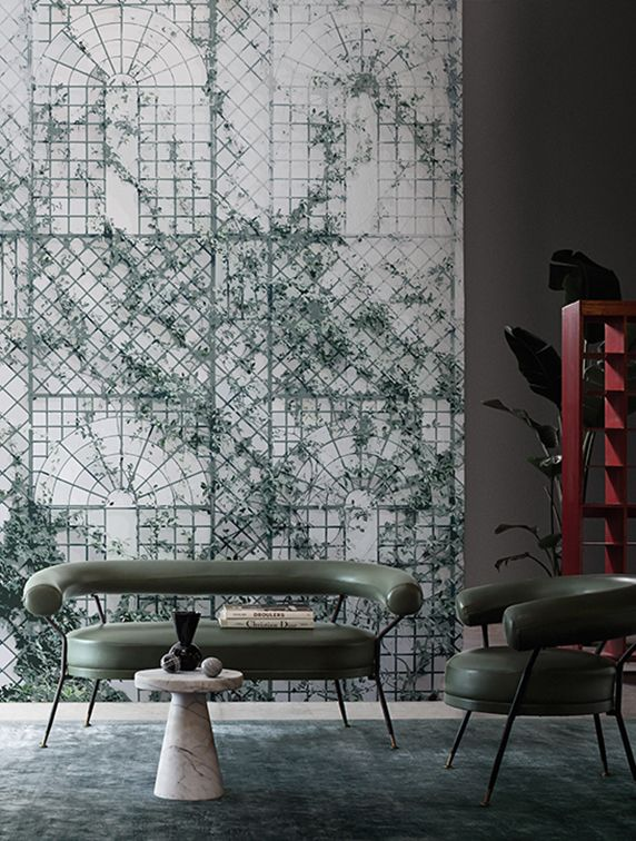 Inspirational Wall Paper Interior Design