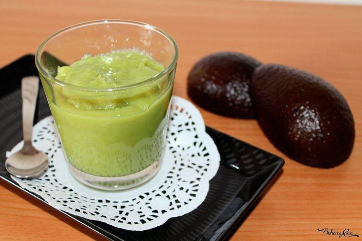 Crema di avocado e cioccolato bianco