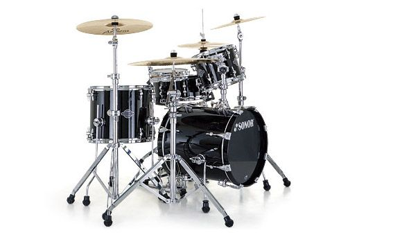 Blue Yamaha Drum Set