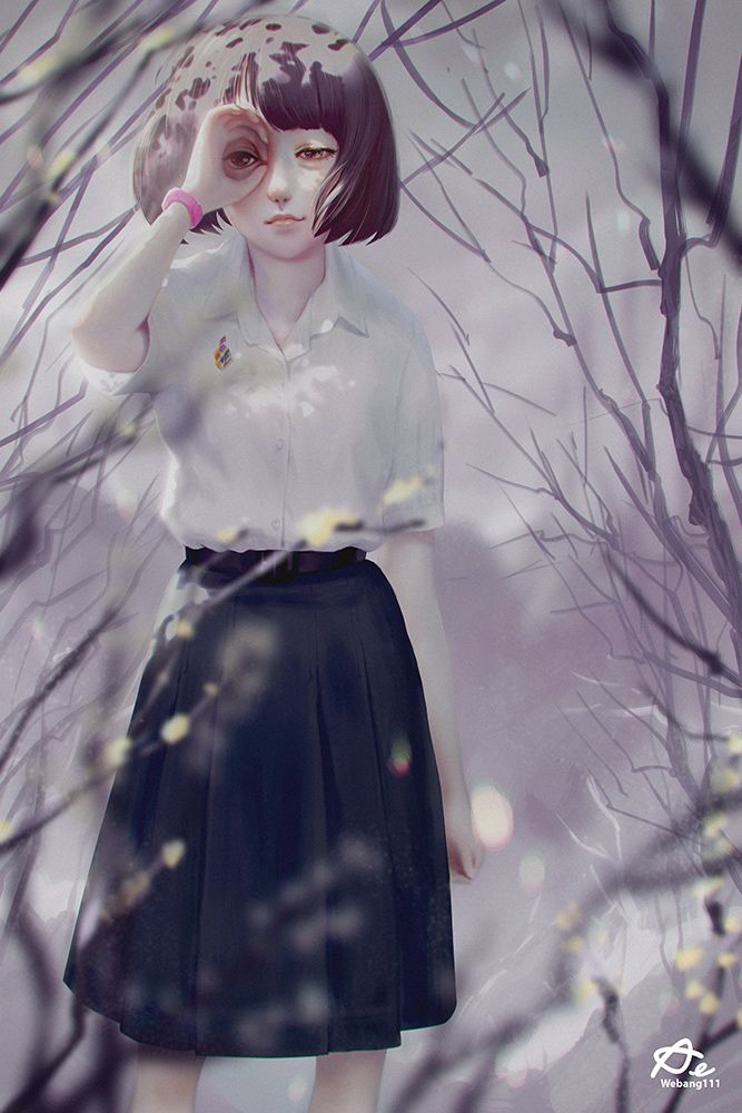 Binoculars Hand by Aekkarat Sumatchaya | Anime | 2D | CGSociety | Digital Illustration | Pinterest | Art, Drawings and Binoculars