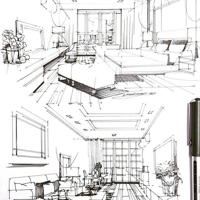 Interior Design Stages