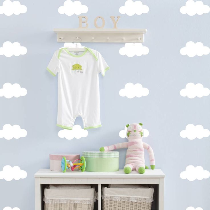 Cloud Decorative Wall Stickers
