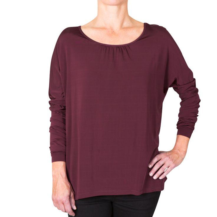 Karen blouse - bordeaux
