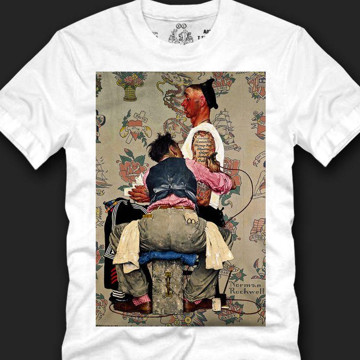 Men's T- shirts Trendy Look Unique Fashionable 100% Cotton, tatoo sailor copy #Koreanleadingfashiontrends #GraphicTee