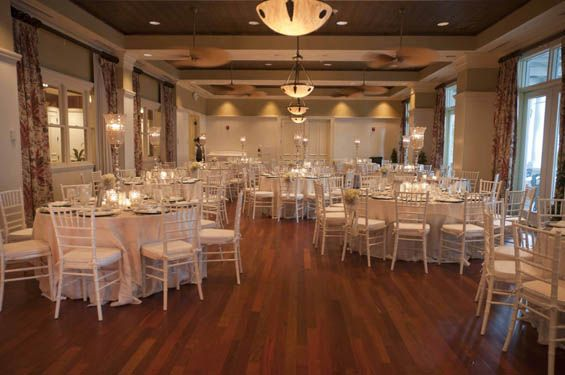 Love this classy setup at the Bohemian Hotel Celebration in Orlando, FL