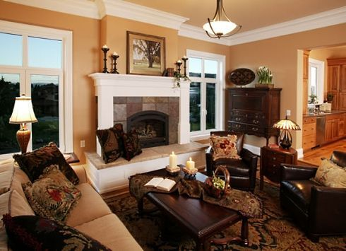 17 best ideas about craftsman cottage on pinterest for Bungalow fireplace ideas