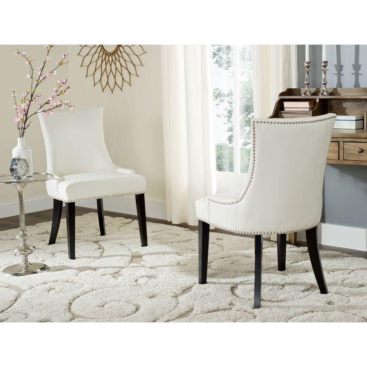Best 25+ White leather dining chairs ideas on Pinterest | Kitchen ...