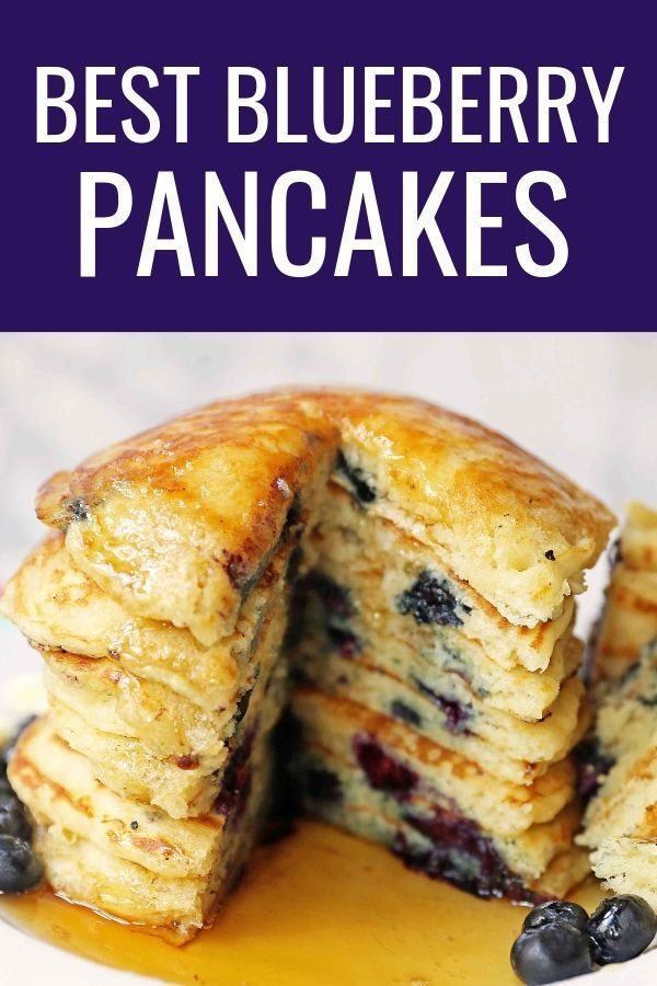 Homemade Blueberry Buttermilk Pancakes Are Light And Fluffy How To Make The Perfect Blueberry Pa Blueberry Pancakes Savoury Cake Blueberry Buttermilk Pancakes