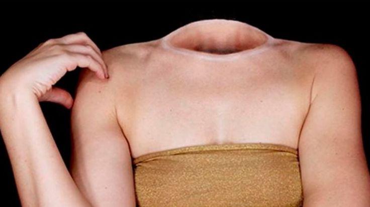 Este cuerpo sin cabeza no está hecho con photoshop. Su secreto es aún más espeluznante