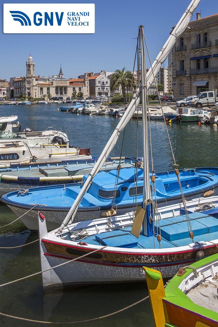 The #CanalRoyal in the coastal town of #Sète in the #Languedoc - #Roussillon region. Sète is a #port & a sea-side #resort on the #Mediterranean #Sea.    Discover #GNV routes from #Morocco to #France here: http://www.gnv.it/en/ferries-destinations/s%C3%A8te-ferries-france.html
