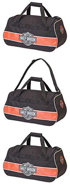 Harley Davidson Bags. Harley Davidson Logo Sport Duffel Bag, Rust/Black, One Size.  #harley #davidson #bags #harleydavidson #davidsonbags