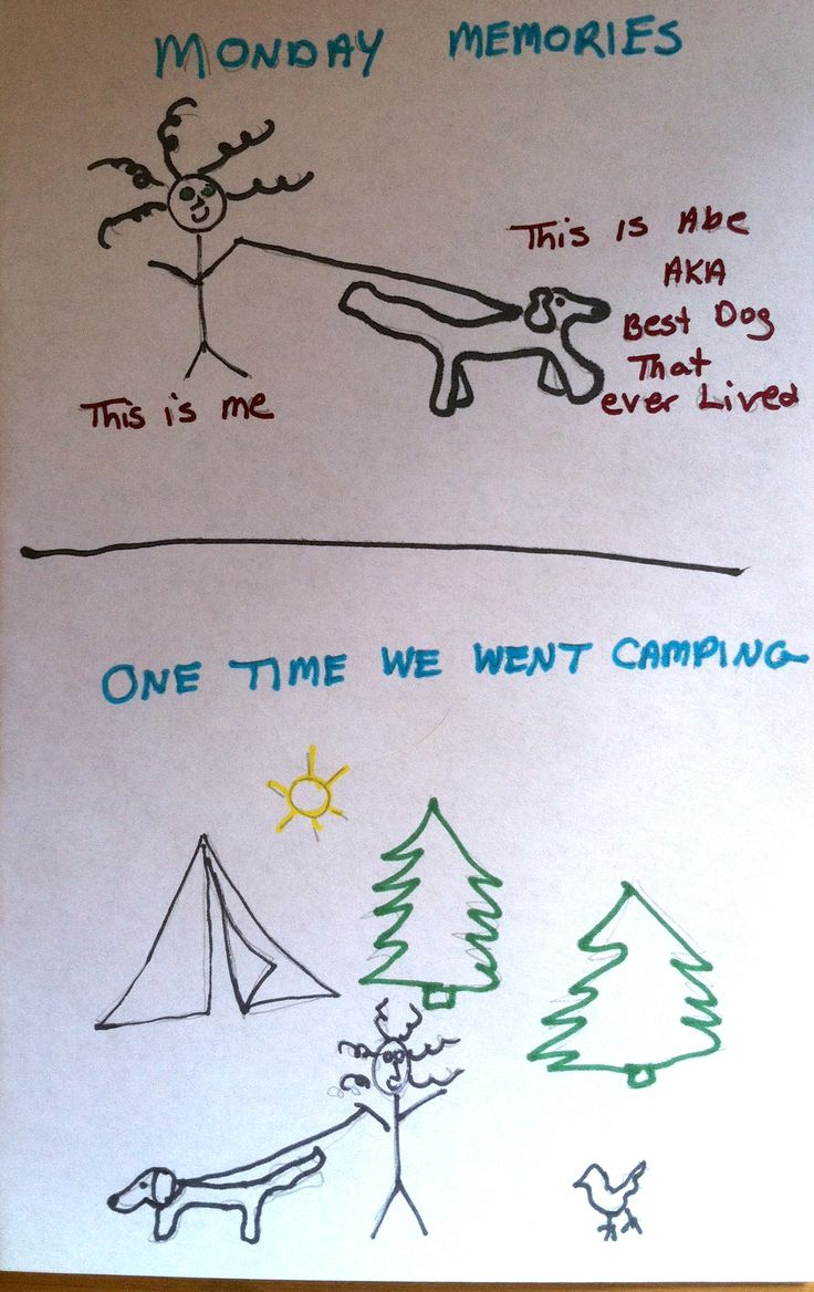 Monday Memories: When Wild Animals Attack (A Stickman Drawing) itsadomelife.com