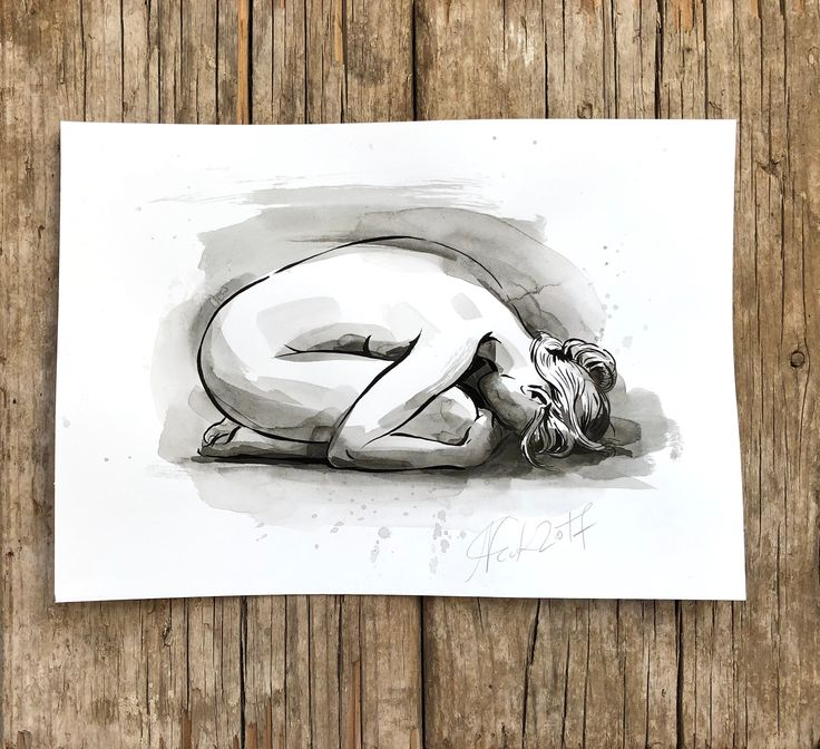 ORIGINAL gesture sketch artistic nude ink drawing, nude women sitting, wall art, nu femme,line drawing for bathroom, bedroom art, gift