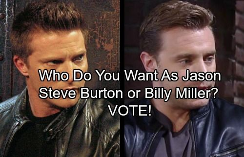 General Hospital (GH) spoilers reveal Steve Burton is indeed returning to the ABC soap opera as announced during yesterday's episode.