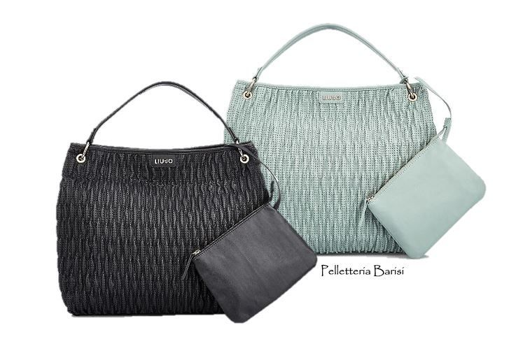 """#Hobobags by #LIUJO della linea """"Turchese"""".  Tutti i modelli collezione #pe2015 da #PelletteriaBarisi"""