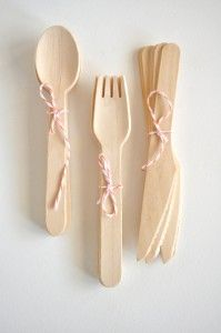 Wooden cutlery set: Wooden Cutlery Set, Bamboo Wooden, Favorite Things, For Kids, 21St Birthday, Emerald, Wooden Forks, Birthday Love, Birthday Ideas