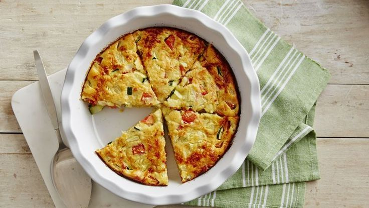 A flavorful mix of zucchini, tomatoes and cheese baked in a pie.  Ahh, if all pies could be this easy.
