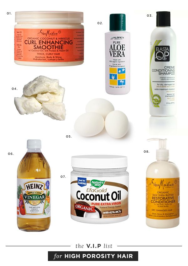 Products For Porous Natural Hair