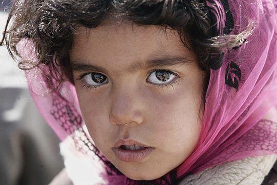 Beautiful little persian girl