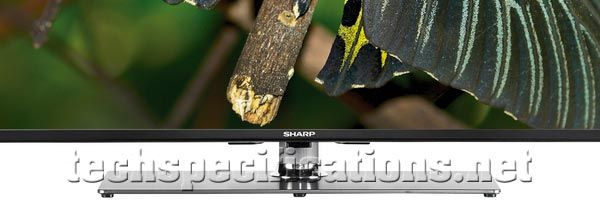 Sharp Full HD 3D LED TV tech specs