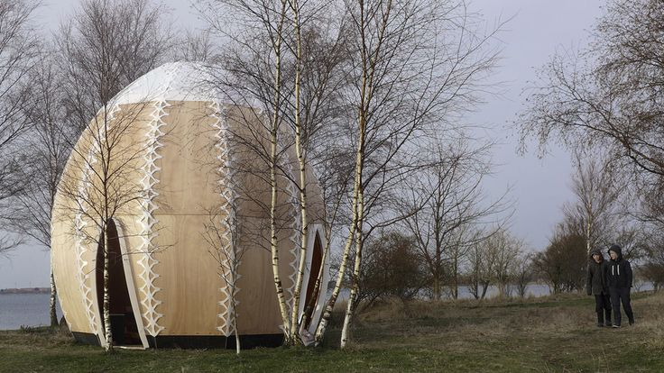 The work of Simon Hjermind Jensen - PROJECTS - Fire Shelter:01 2013