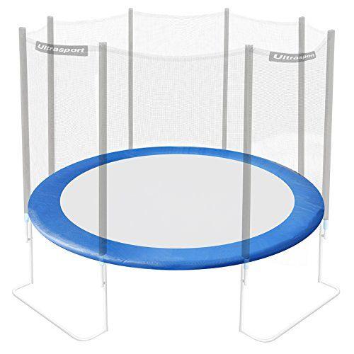 Ultrasport revêtement des bords pour trampoline de jardin Ultrasport / Ultrafit jumper bleu ou rose, 180 – 430cm: Bordure en mousse pour…